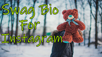 Swag Bio For Instagram