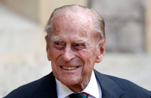 Suami Ratu Elizabeth II, Pangeran Philip Meninggal Dunia