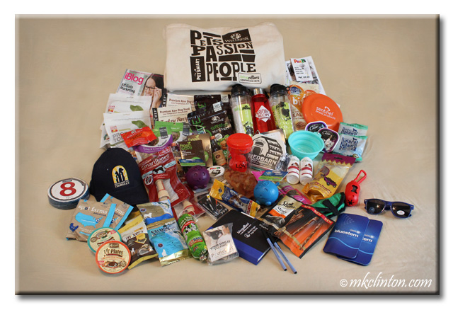 A large pile of pet products from amazing brands