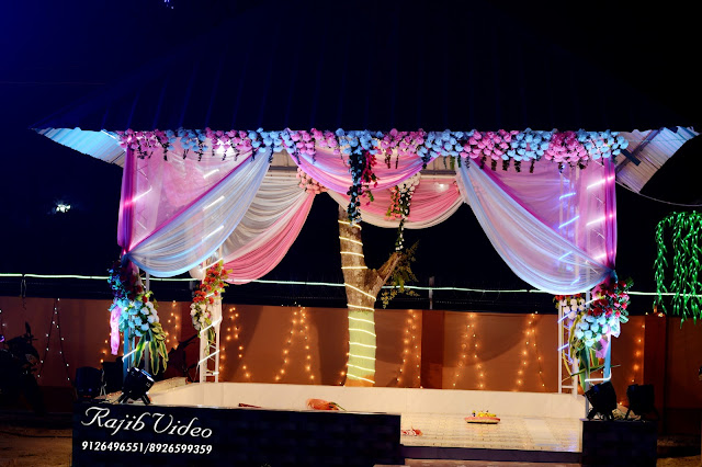 Stage for marriage of Celebration Banquet Hall