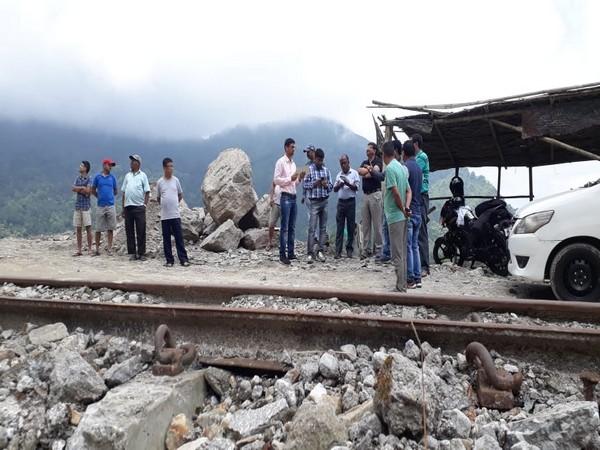 Drone monitor landslide possibility in Darjeeling