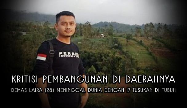 Gencar Beritakan Dugaan Korupsi Proyek Desa Hingga Tulis Berita Jalan Rusak, Wartawan Meninggal dengan 17 Luka Tusuk