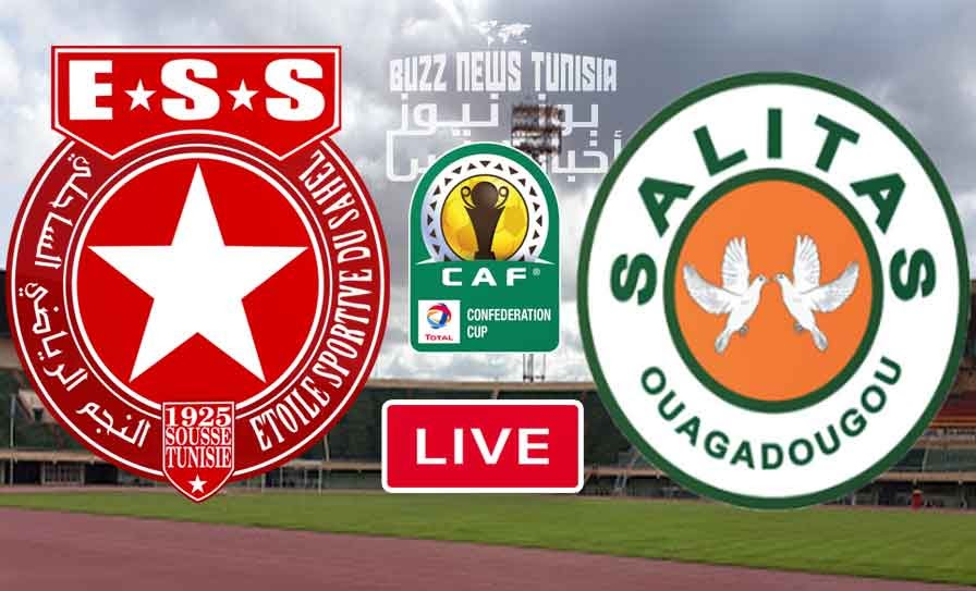 Match Etoile du Sahel vs Salitas FC Live Stream