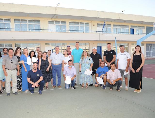 Τελετή λήξης σχολικής χρονιάς 2020-2021 στο Σχολείο Δεύτερης Ευκαιρίας Κρανιδίου