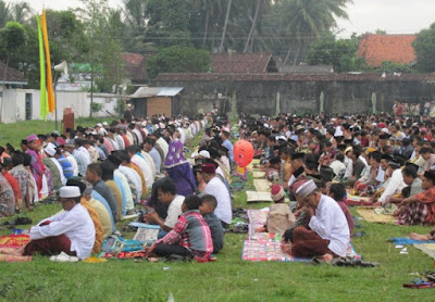 Contoh Ikrar Syawalan Bahasa Jawa