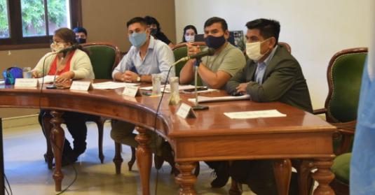 El Concejo Deliberante de Orán trata las destituciones de Tevez y Barraza