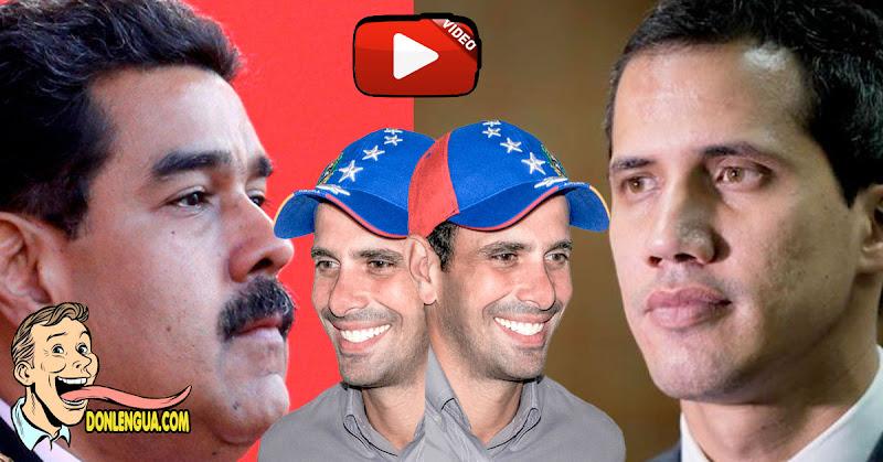 """Henrique """"polvito"""" Capriles dice que está """"En El Medio"""" entre el régimen y la oposición"""