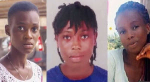 Dead bodies of missing Takoradi Girls