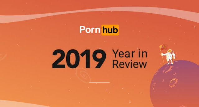 "Pornhub revela estatisticas ""tecnologicas"" do Ano 2019"