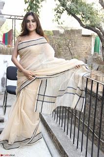 Sony Charishta in Brown saree Cute Beauty   IMG 3595 1600x1067.JPG