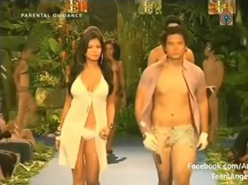 Angel Locsin Shows Off Her Extreme  Sexiness When She Walked On theRunway Wearing  Nothing But Bikinis!