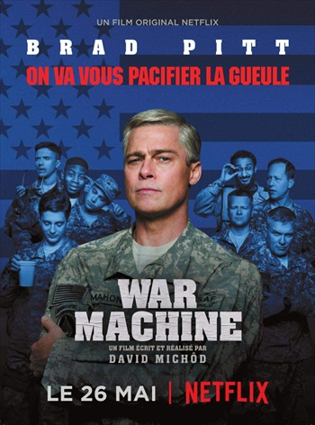 War Machine 2017 English 720p WEBRip 950MB ESub