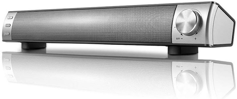 50% off Bluetooth Sound Bar,Wired and Wireless Home Theater TV Stereo Speaker