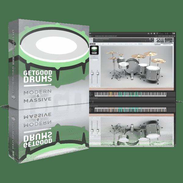 GetGood Drums Modern & Massive Pack KONTAKT Library