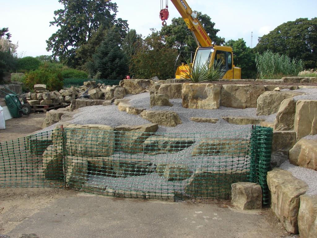 Paisajismo pueblos y jardines jardines de rocalla y rock for Construir jardin