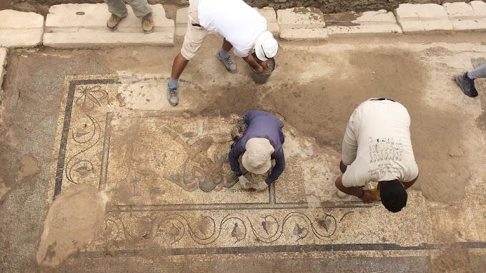 Ελληνικό μωσαϊκό του 2ου αιώνα αποκαλύφθηκε στην Αντιόχεια την επί του Κράγου