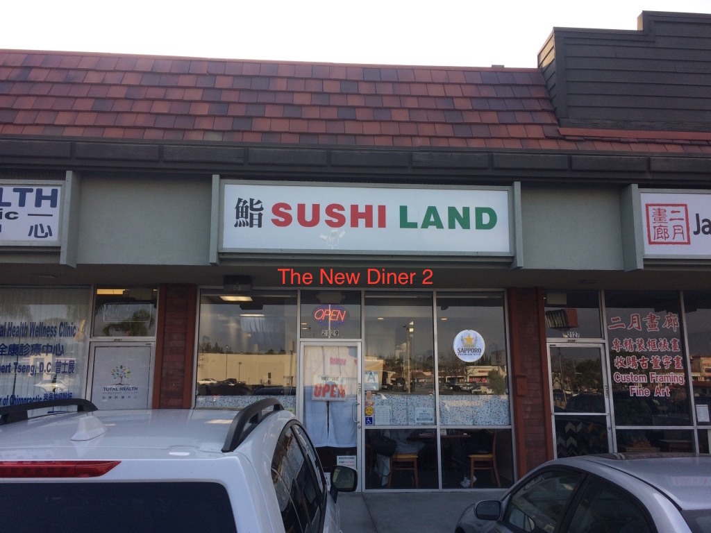 the new diner 2 sushi land