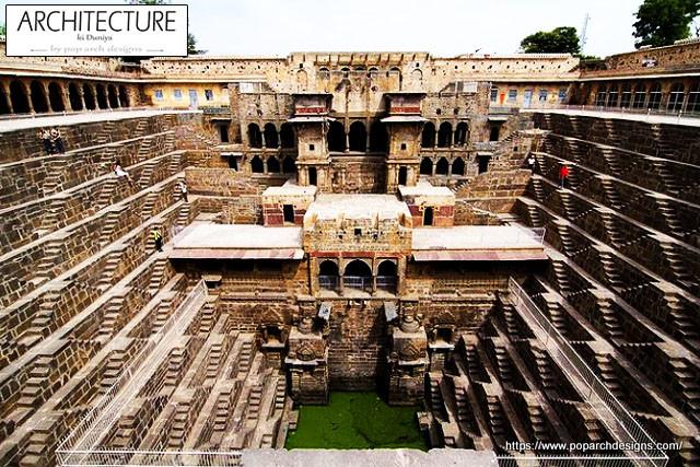 jaipur pink city - abhaneri stepwell