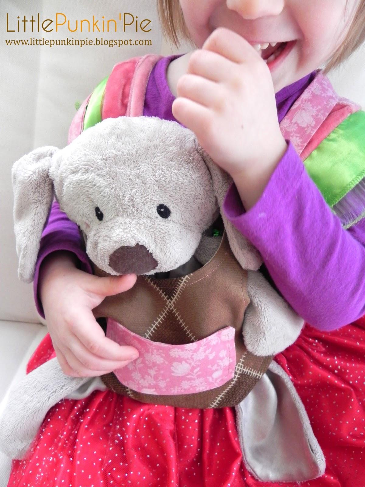 Littlepunkinpie Baby Doll Stuffed Animal Carrier Tutorial