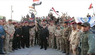 رئيس وزراء العراق يعلن الأنتصار بتحرير تلعفر و الموصل بالكامل