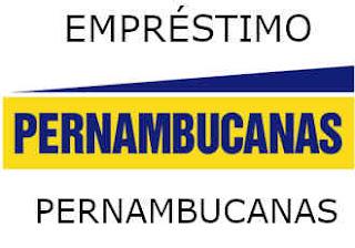 Imagem dizendo: Empréstimo Pernambucanas