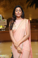 Eesha Rebba in beautiful peach saree at Darshakudu pre release ~  Exclusive Celebrities Galleries 079.JPG