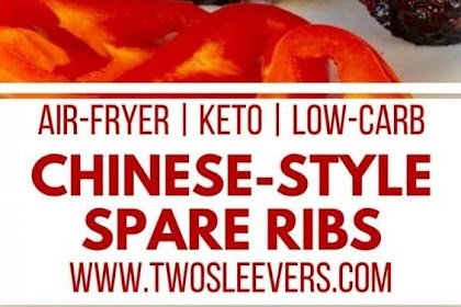 Air Fryer Keto Chinese-style spareribs