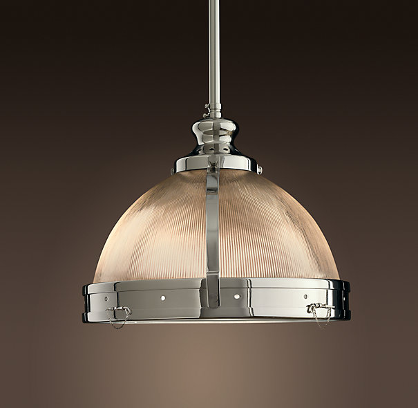 Restoration Hardware doesn't skimp on utility, either; the Orbiter II is offered in burnished brass, bronze, and nickel finishes, and is outfitted with a rotary dimmer switch for mood lighting in a pinch.