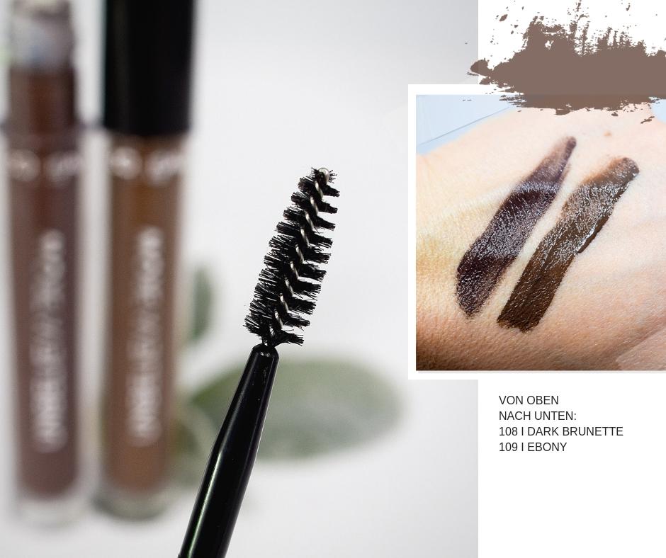 Mein Test und meine Erfahrungen mit dem neuen L'Oréal Unbelieva-Brow Augenbrauen Gel.