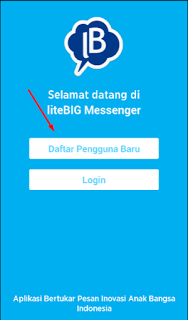 apLIKASI chatting gratis asal indonesia , software buatan indonesia , android chat application , free chat android , litebig messenger