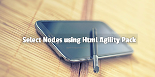 Learn HAP: Select Nodes using Html Agility Pack