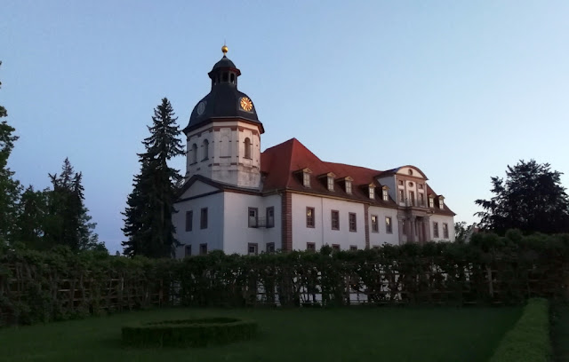 Eisenberg - Schlosskirche und Schloss Christiansburg