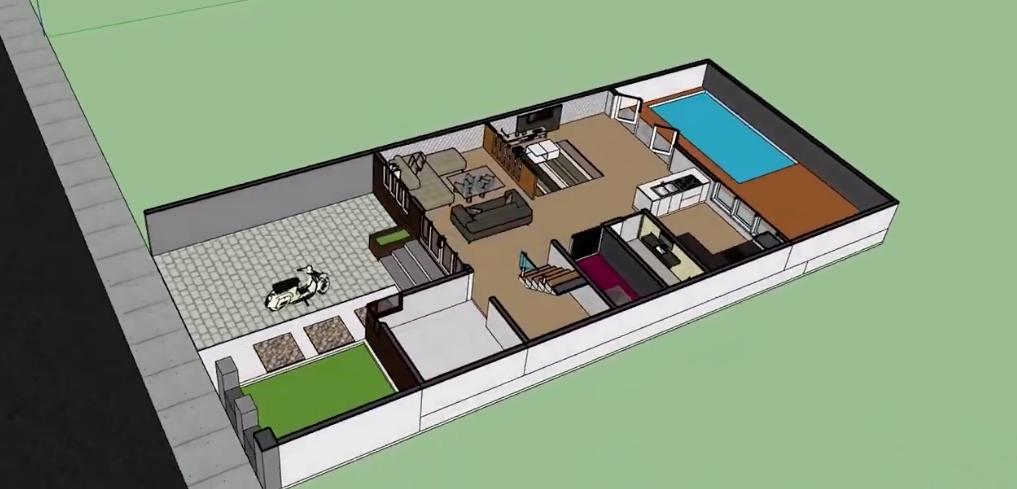 970 Gambar Rumah Minimalis Sederhana Dengan Kolam Renang Terbaru
