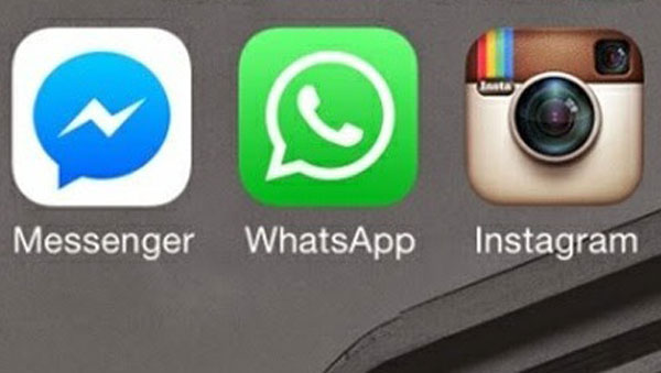 WhatsApp, Instagram, Facebook Messenger