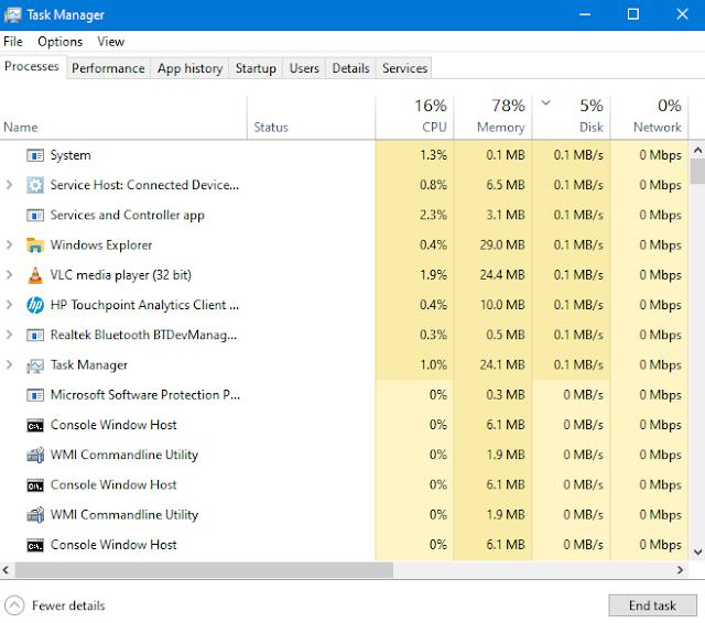 task manager windows