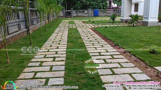 Kerala landscape home design