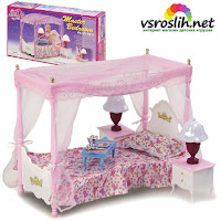 Спальня для кукол Gloria 2314