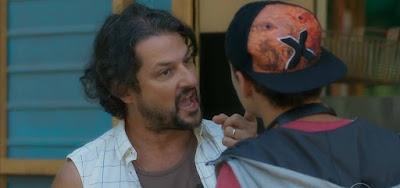 Nicolau (Marcelo Serrado) vai se surpreender com a reação do filho em O Sétimo Guardião