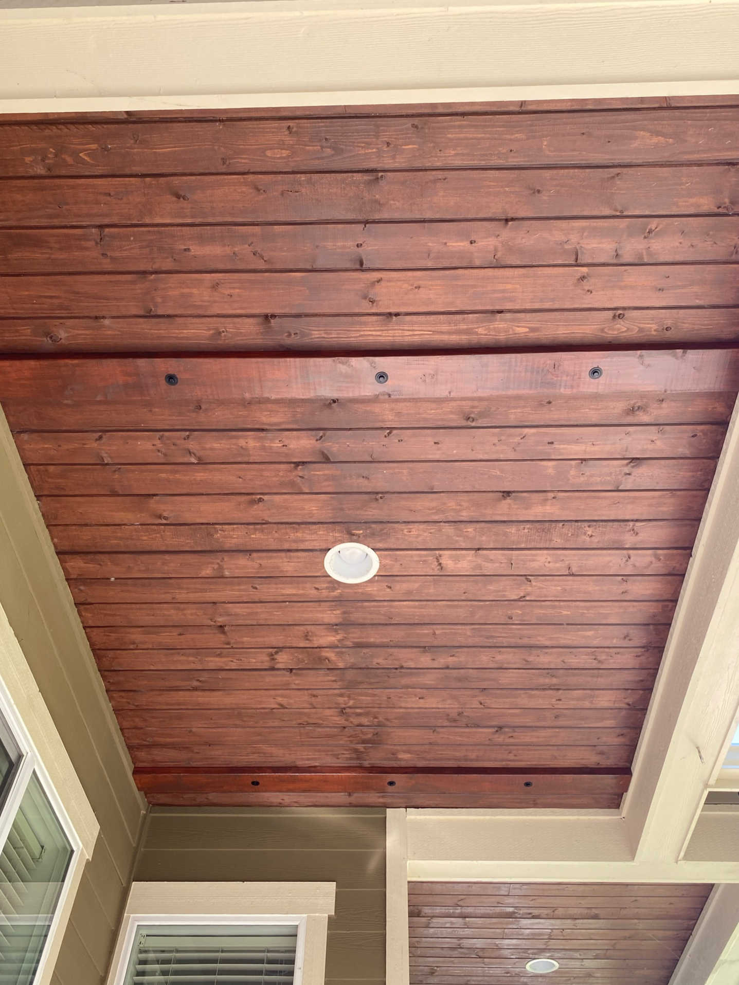 hang porch swing ceiling joists