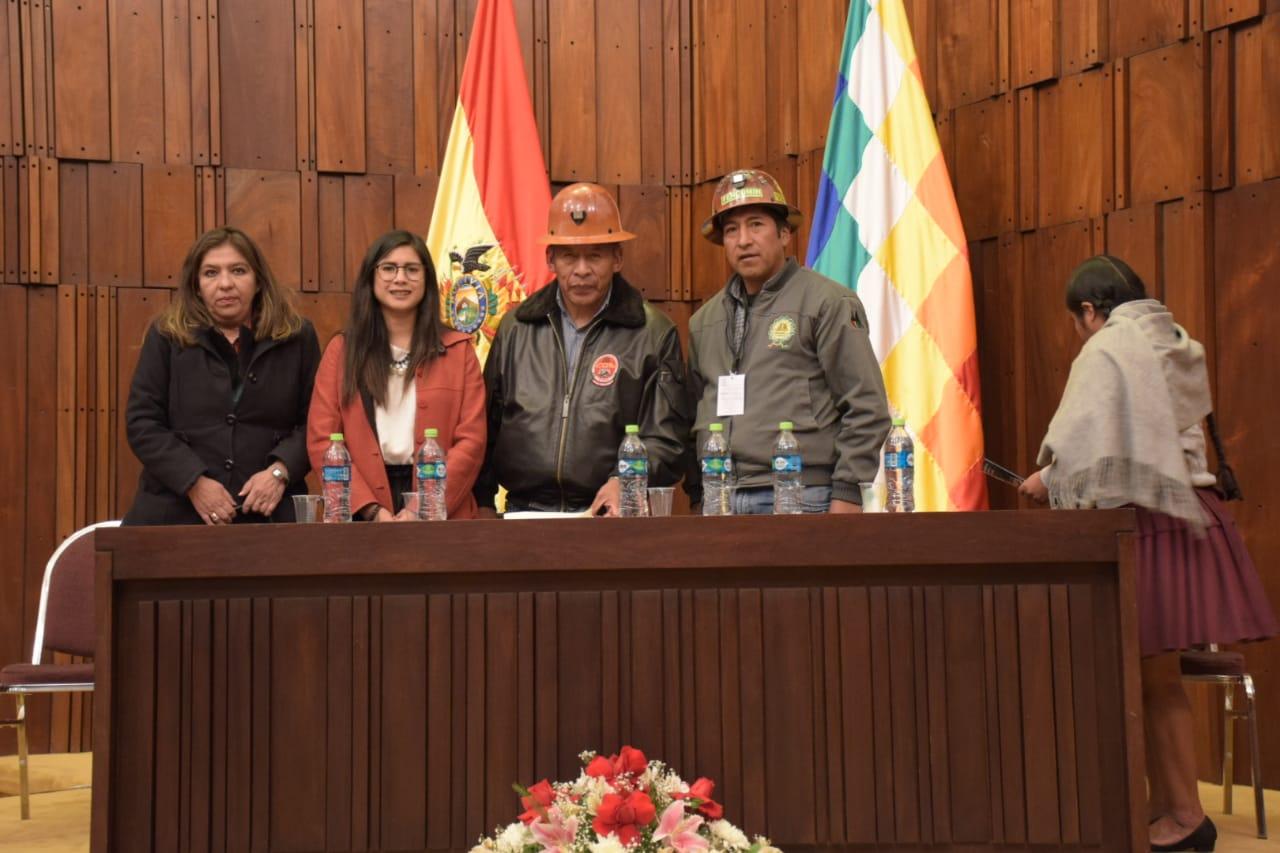 Representantes de FERRECO y FENCOMIN con legisladores mineros y expertos de Perú / ÁNGEL SALAZAR