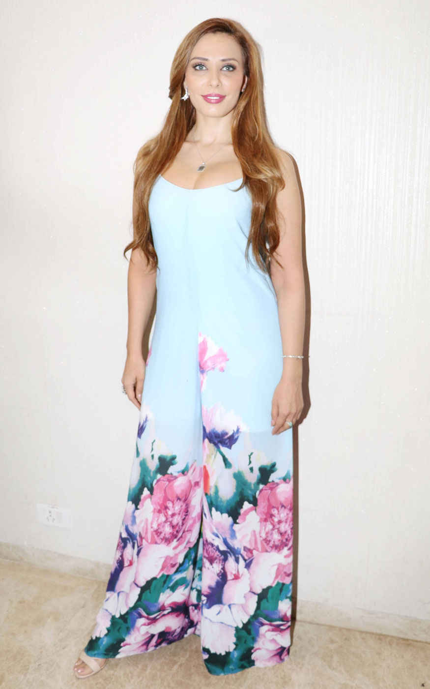 Iulia Vantur Poses for Screening of short film Parineeti Hosted by Playground Digital Cinema