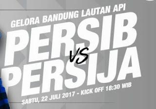 Harga Tiket Pertandingan Persib Bandung vs Persija Jakarta 22 Juli 2017 Naik