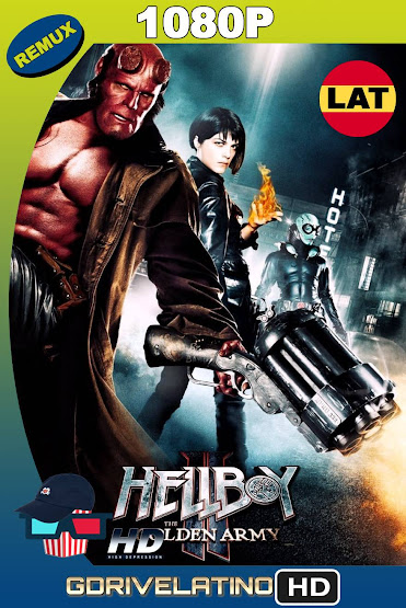 Hellboy II: El Ejército Dorado (2008) BDRemux 1080p Latino-Ingles MKV