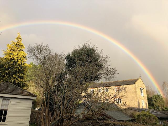 Chez Maximka, double rainbow