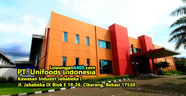 Lowongan Kerja PT. Unifoods Indonesia Jababeka Cikarang