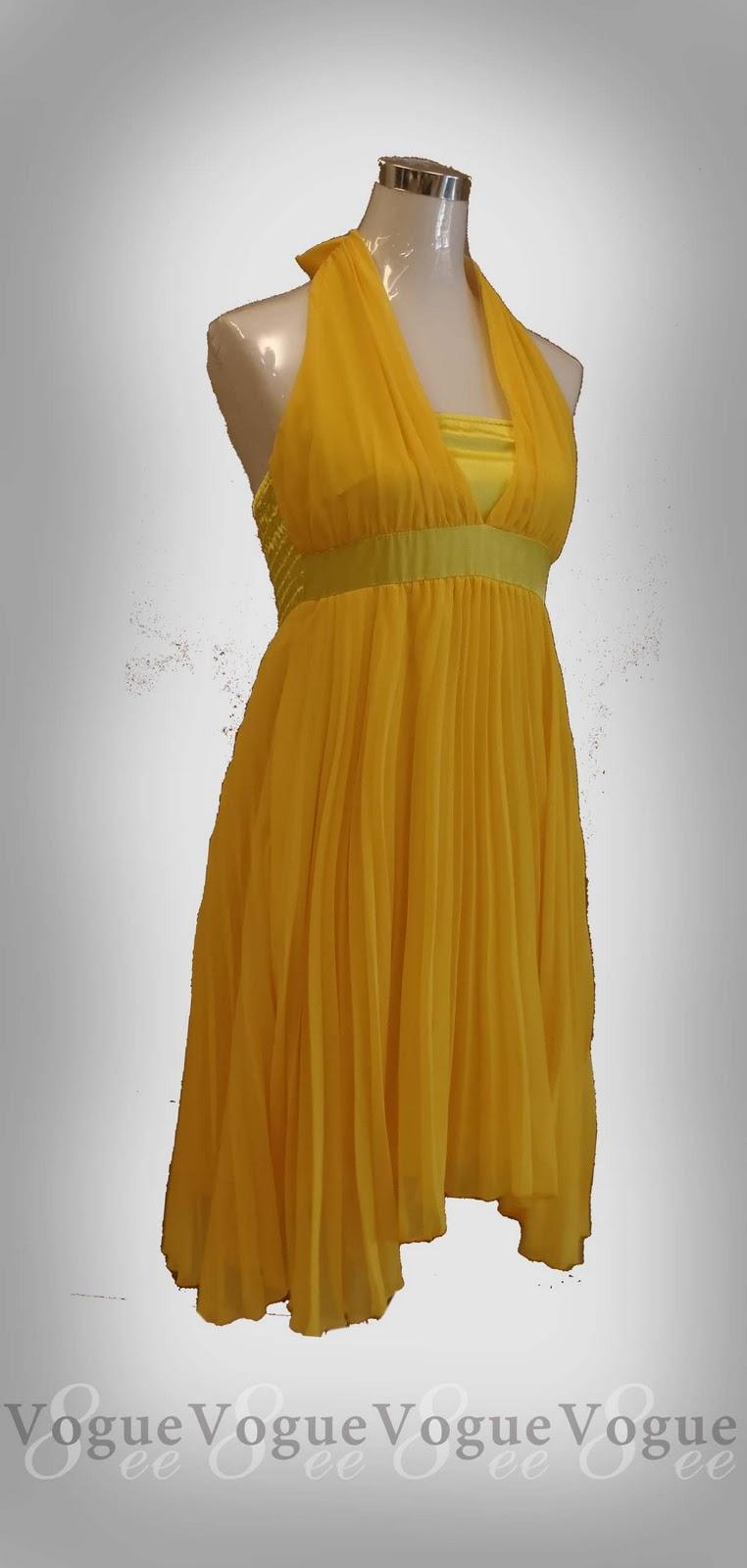 79cc7ff5579 Item code  Marilyn Monroe Dress Colour Code  Yellow Lemon