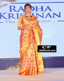 Laksmi Manchu at Radha Krishna Silk Saree Launch