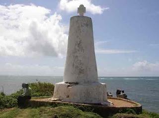 падран (каменный гербовый столб с надписями, который ставился с 80-х годов ХV в. португальцами на африканском побережье в важнейших пунктах)