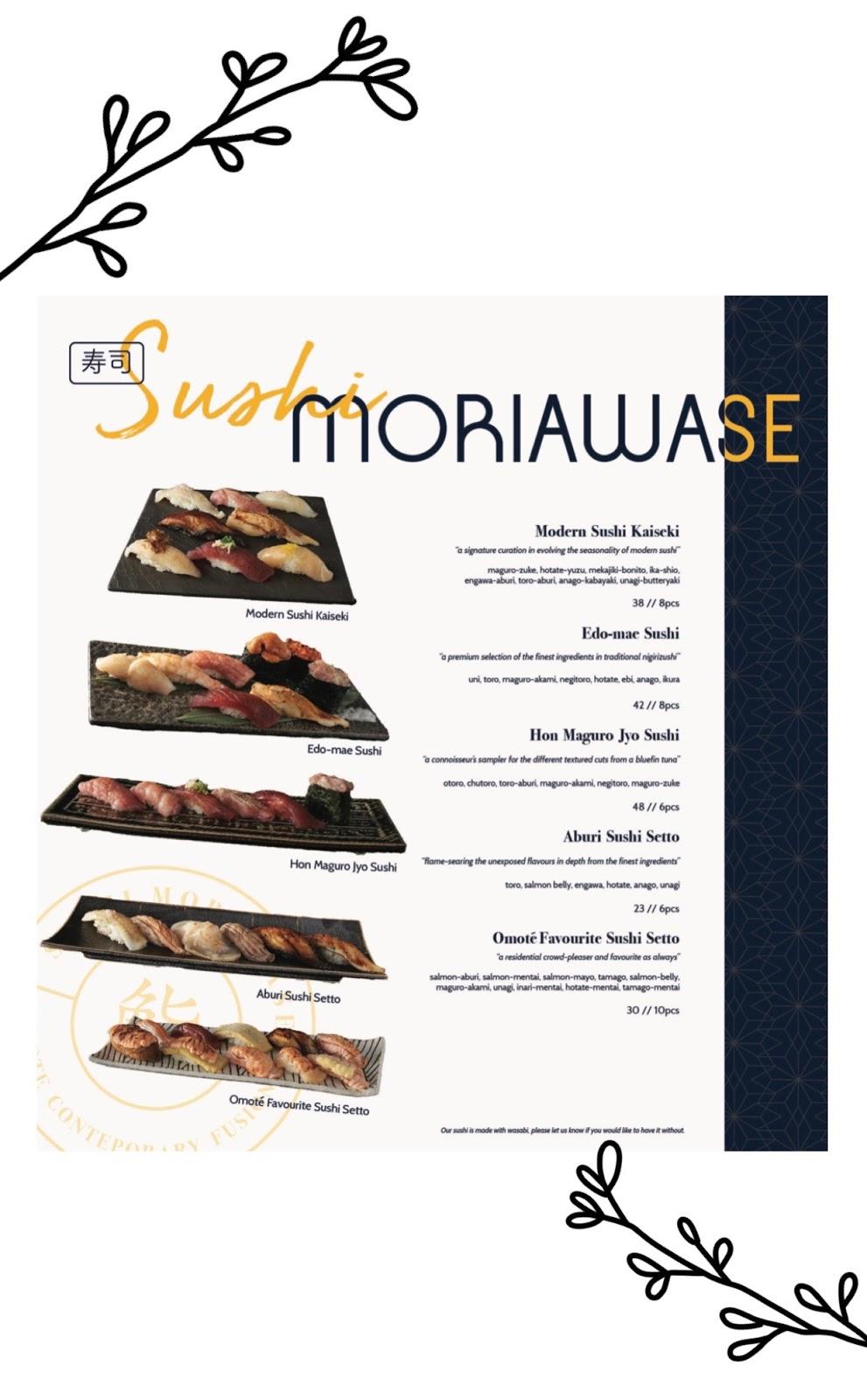 omote menu 5