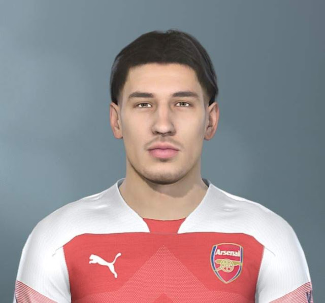PES 2019 Bellerin Face By The White Demon